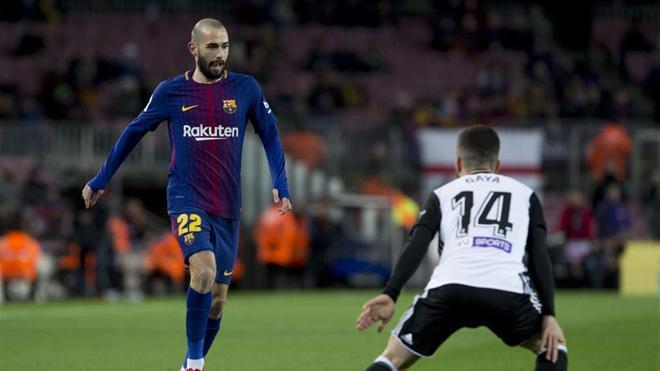 Aleix Vidal vuelve a ser importante