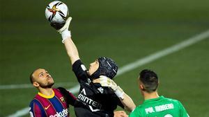 El partidazo de Ramón Juan ante el Barça con dos penaltis parados incluidos