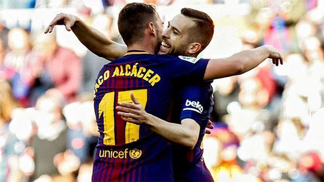 LALIGA | FC Barcelona - Athletic (2-0): El gol de Alcácer