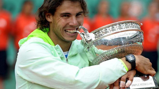 Rafa Nadal, ganador de Roland Garros (2010)