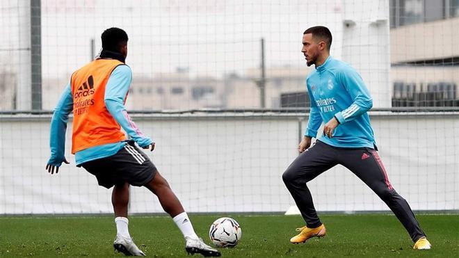 Zidane, sobre regreso de Hazard: Depende únicamente del jugador