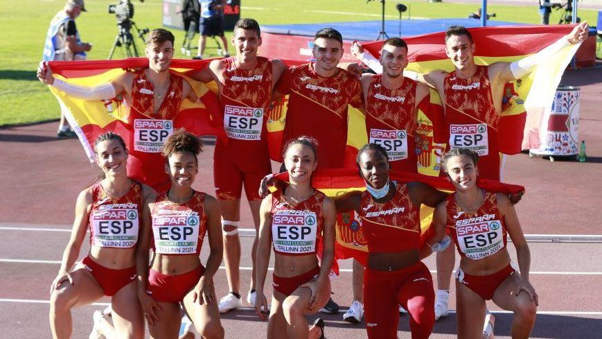 Una España emergente, cuarta en el medallero del Europeo sub'23