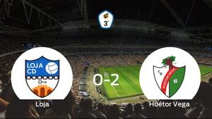 El Huétor Vega consigue los tres puntos después de derrotar 0-2 al Loja