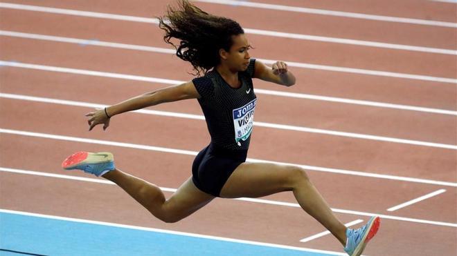 María Vicente apunta a lo más alto en combinadas con solo 17 años