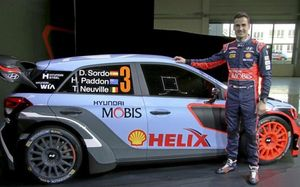 Dani Sordo, número uno de Hyundai en 2016