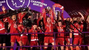 El Liverpool de Jürgen Klopp fue el equipo campeón de la Premier League 2019 - 2020