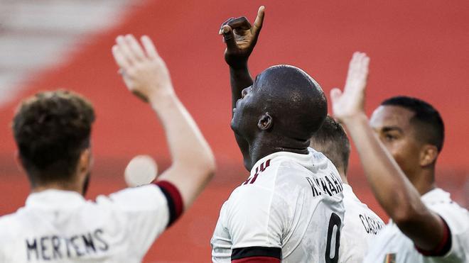 Lukaku, la gran esperanza en el ataque belga