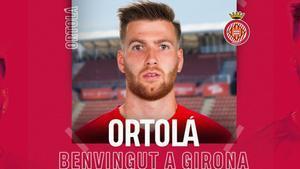 Ortolá llega al Girona