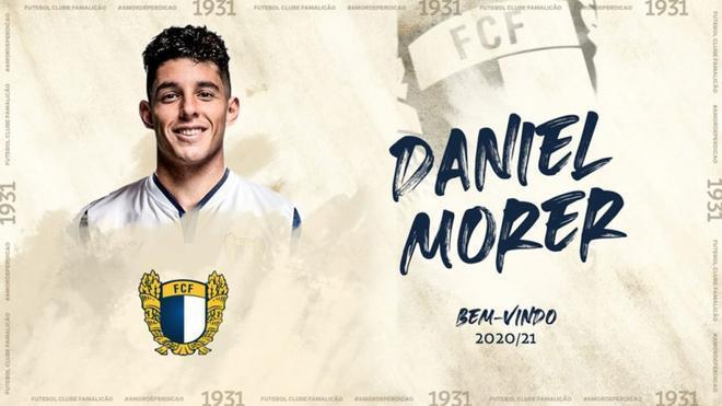 Dani Morer, exjugador del Barça B, ahora en las filas del Famalicao Portugués
