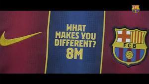 El Barça sobre el 8M