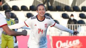 Alexia Putellas hace historia con la selección española