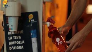 Fuentes para rellenar las botellas de agua