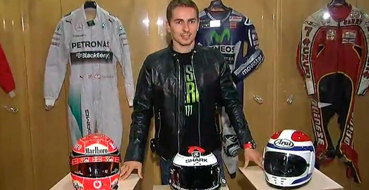 Jorge Lorenzo abrirá un museo de Moto GP y Fórmula 1 en Andorra