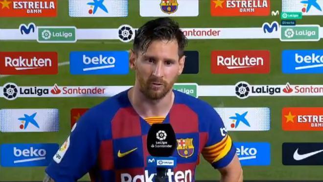 Messi explota: Jugando así no nos daba para la Champions y no nos ha alcanzado ni para la liga