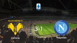 El Hellas Verona gana 3-1 al Nápoles y se lleva los tres puntos