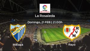 Previa del encuentro de la jornada 26: Málaga - Rayo Vallecano