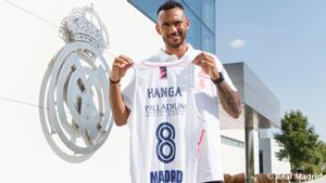 Hanga dijo sentirse agradecido al Madrid por esta nueva oportunidad de blanco