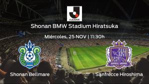 Previa del partido: el Shonan Bellmare recibe al Sanfrecce Hiroshima