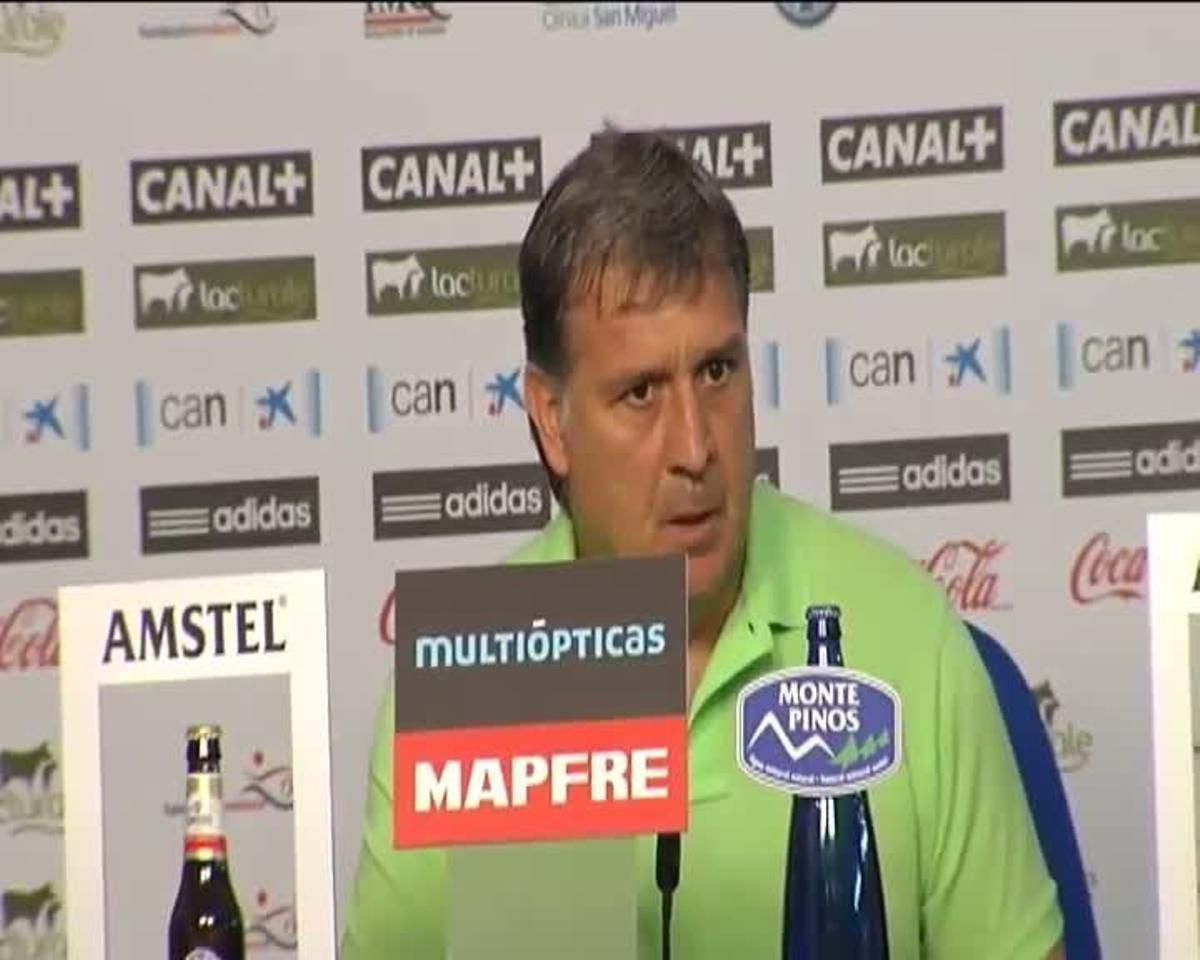 Martino: De acuerdo a lo que hizo el equipo sí es insuficiente