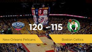 New Orleans Pelicans vence a Boston Celtics por 120-115