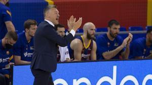 Saras quiere a su equipo intenso ante el Fenerbahçe, cosa que no pasó en Tel Aviv