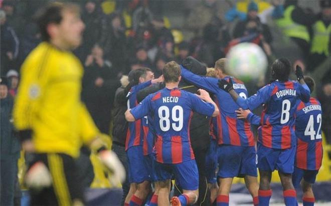 El CSKA de Moscú logró el empate en el tiempo de descuento