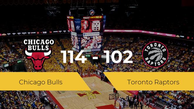 Chicago Bulls logra la victoria frente a Toronto Raptors por 114-102