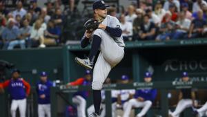 Corey Kluber, de los Yankees.