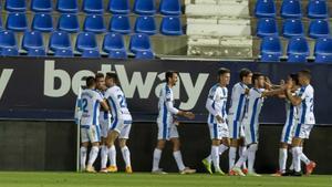 El Leganés gana al Málga y se mete en el Play-off