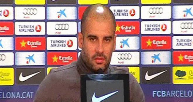 Guardiola: Hay cinco millones de parados, ¿cómo vamos a quejarnos de los árbitros?