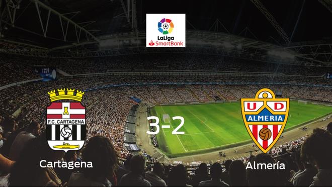El Cartagenasuma tres puntos más ante el Almería (3-2)