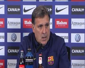 Martino: Este partido nos va a hacer más fuertes