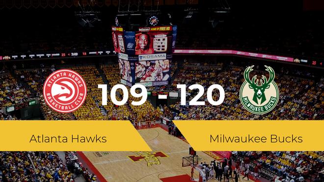 Milwaukee Bucks se hace con la victoria contra Atlanta Hawks por 109-120