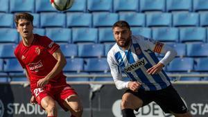 Javi Martínez golpea a puerta el 0-1 tras recortar a David López