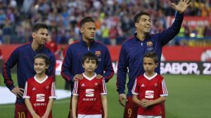 Messi, Neymar y Suárez, los reyes del gol