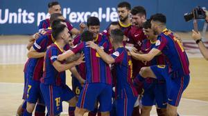 El Barça, tras eliminar al Palma la temporada pasada en semifinales