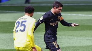 Messi, ante el Villarreal