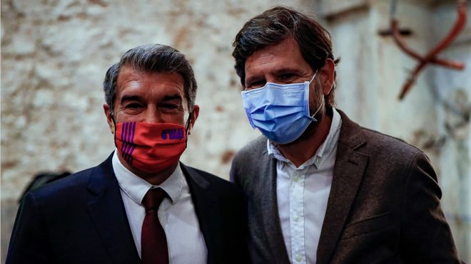 Mateu Alemany diseña el nuevo proyecto de Joan Laporta para la cantera del Barça