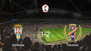 El Yeclano Deportivo consigue los tres puntos después de vencer 1-2 al Córdoba