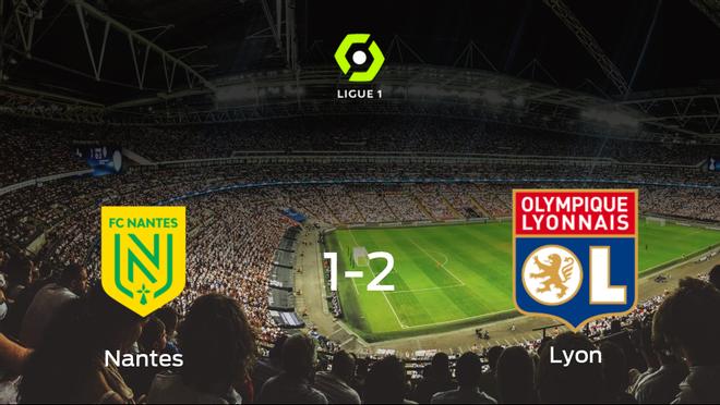 El Olympique Lyon consigue los tres puntos tras ganar 1-2 al FC Nantes