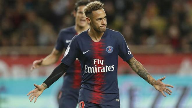 El Mónaco no es rival para Neymar