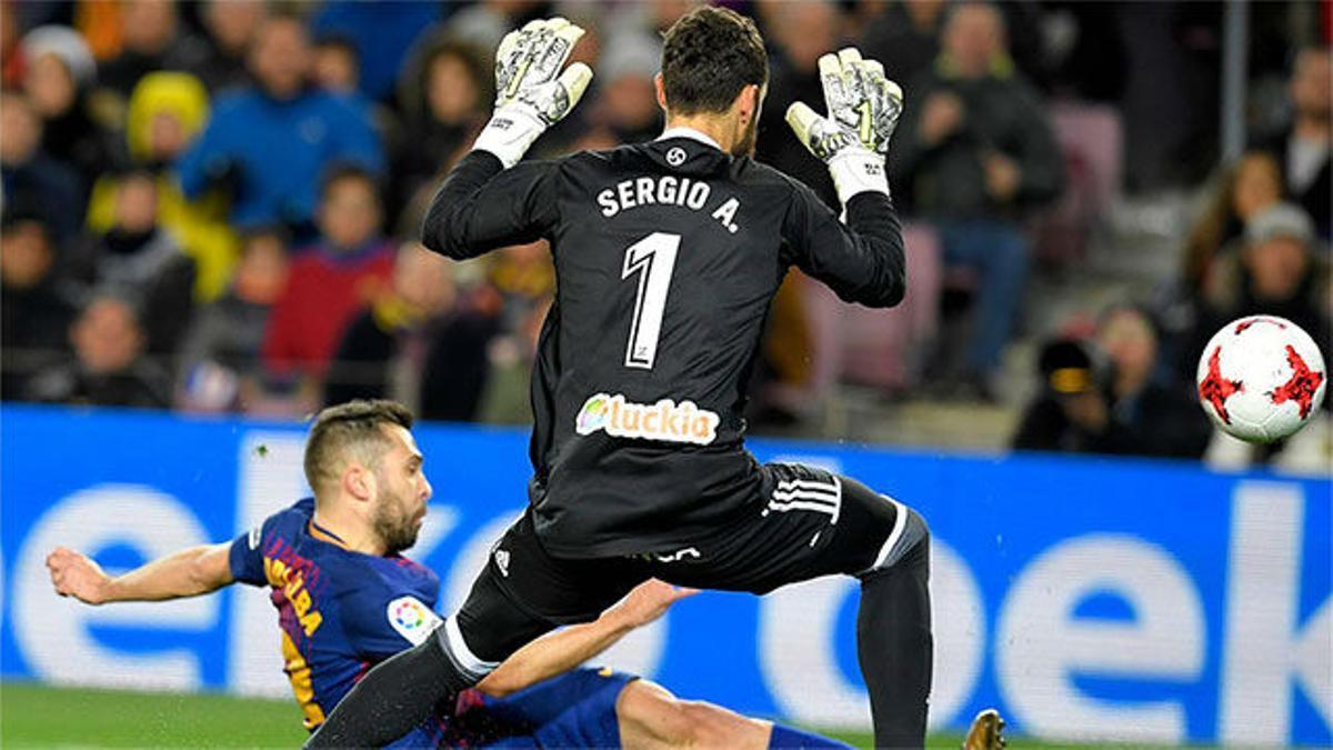 LACOPA   FC Barcelona - Celta de Vigo (5-0): Gol de Jordi Alba
