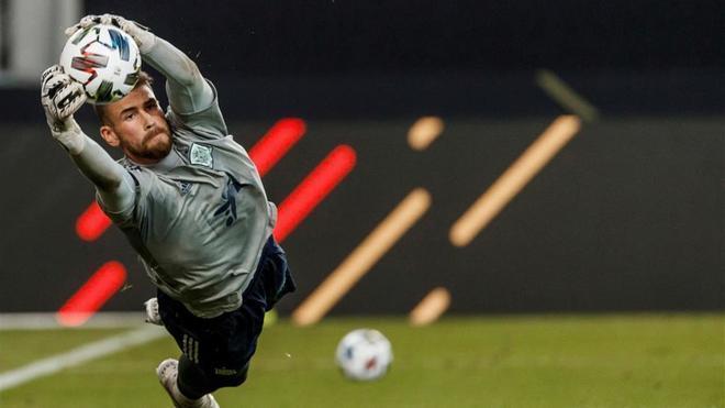 Unai Simón debutará con la selección española ante Holanda