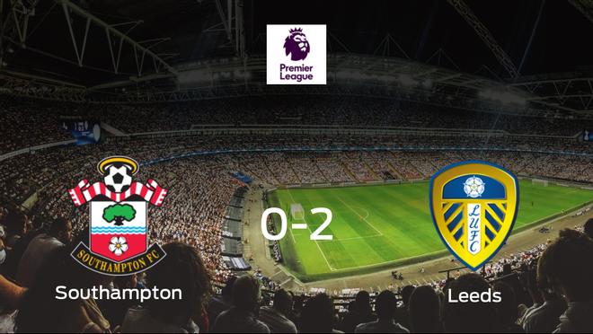 El Leeds United vence 0-2 en casa del Southampton