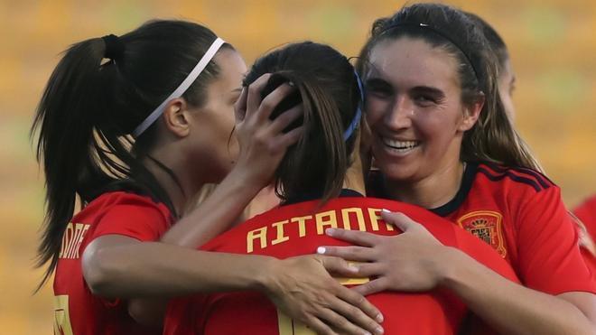 España goleó a Bélgica con un 3-0