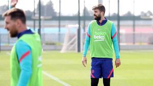Así ha sido el entrenamiento del Barça antes de medirse al Valladolid