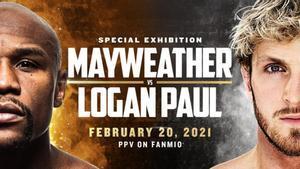 Floyd Mayweather y Logan Paul cruzarán sus guantes en febrero