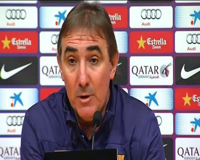 Pautasso se estrenó en el banquillo del Barça