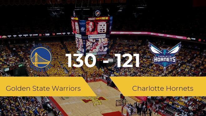 Golden State Warriors derrota a Charlotte Hornets (130-121)