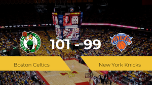 Boston Celtics derrota a New York Knicks por 101-99